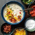 Loaded Baked Potato Soup | The Good Hearted Woman
