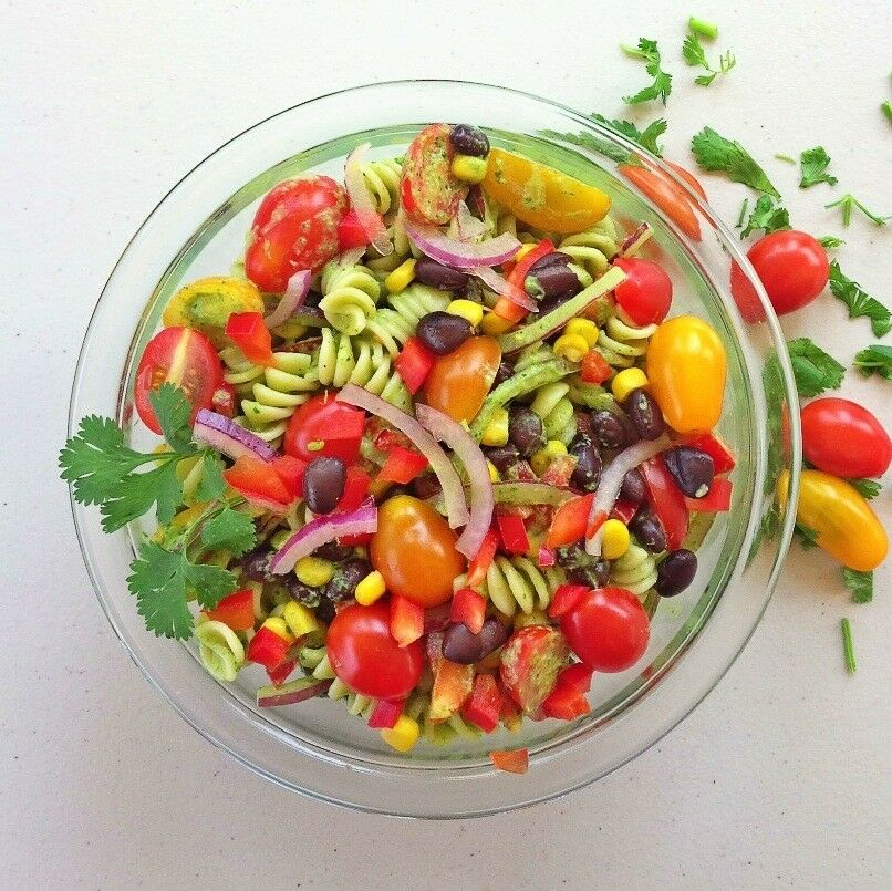 10-Minute Summer Salad | The Good Hearted Woman