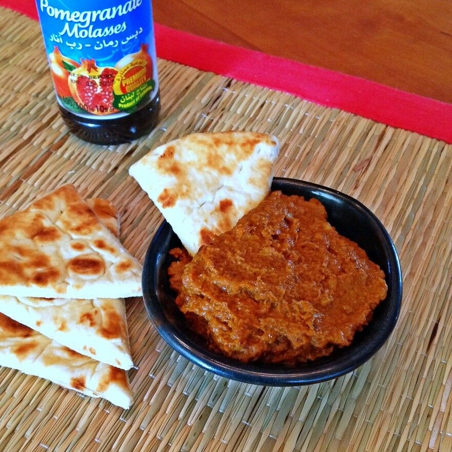 Muhammara – Walnut Pomegranate Paté