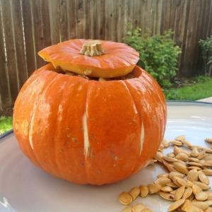 Prepared Stuffed Pumpkin