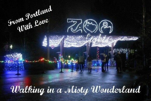 Portland Zoolights 2013 | What's for Dinner, Mama? [http://thegoodheartedwoman.com]