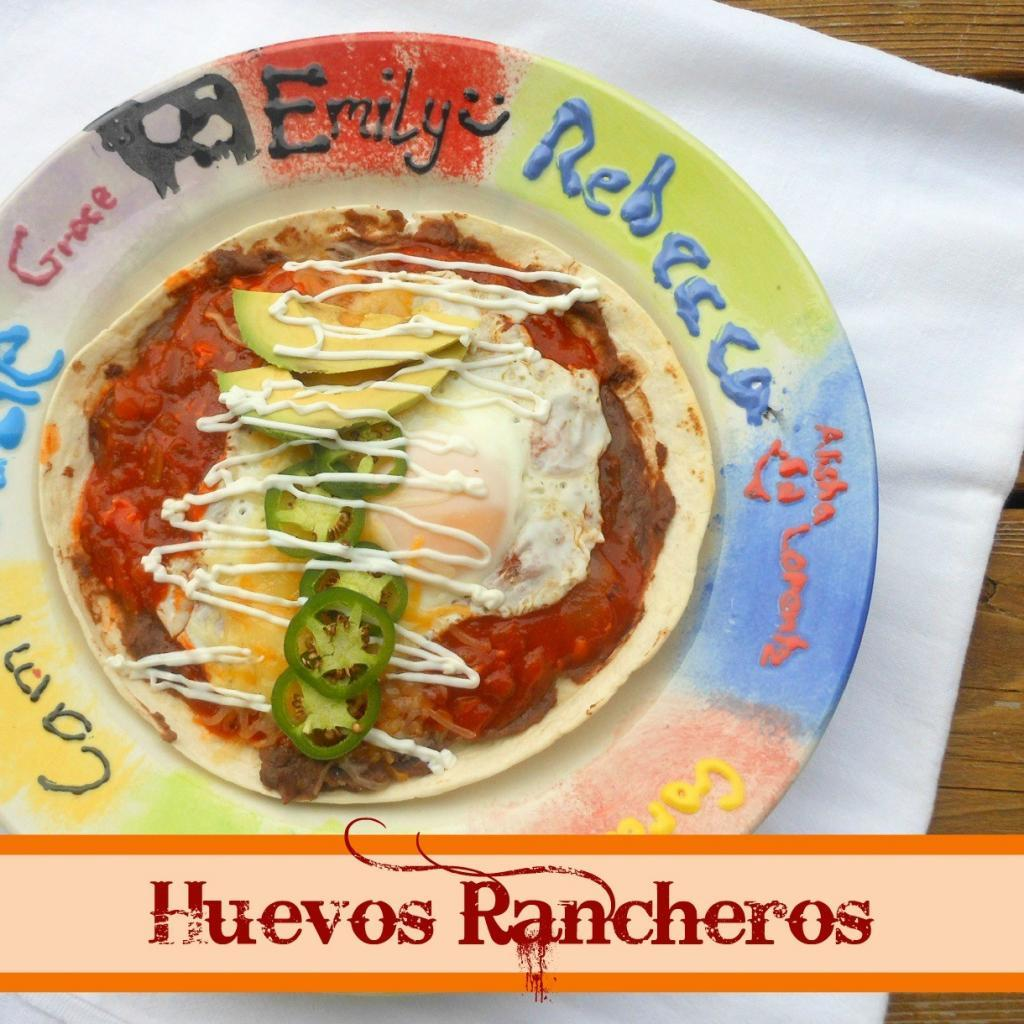 Our traditional New Years Day breakfast - Huevos Rancheros