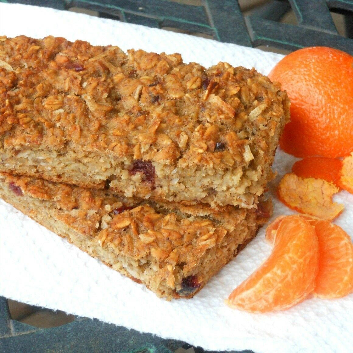 Banana Oatmeal Breakfast Bars Recipe