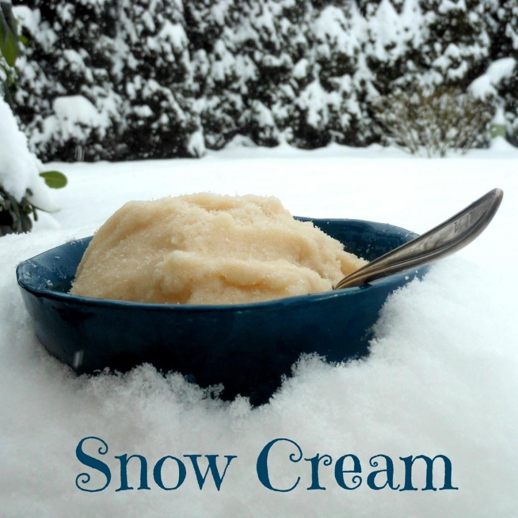 Snow Ice Cream