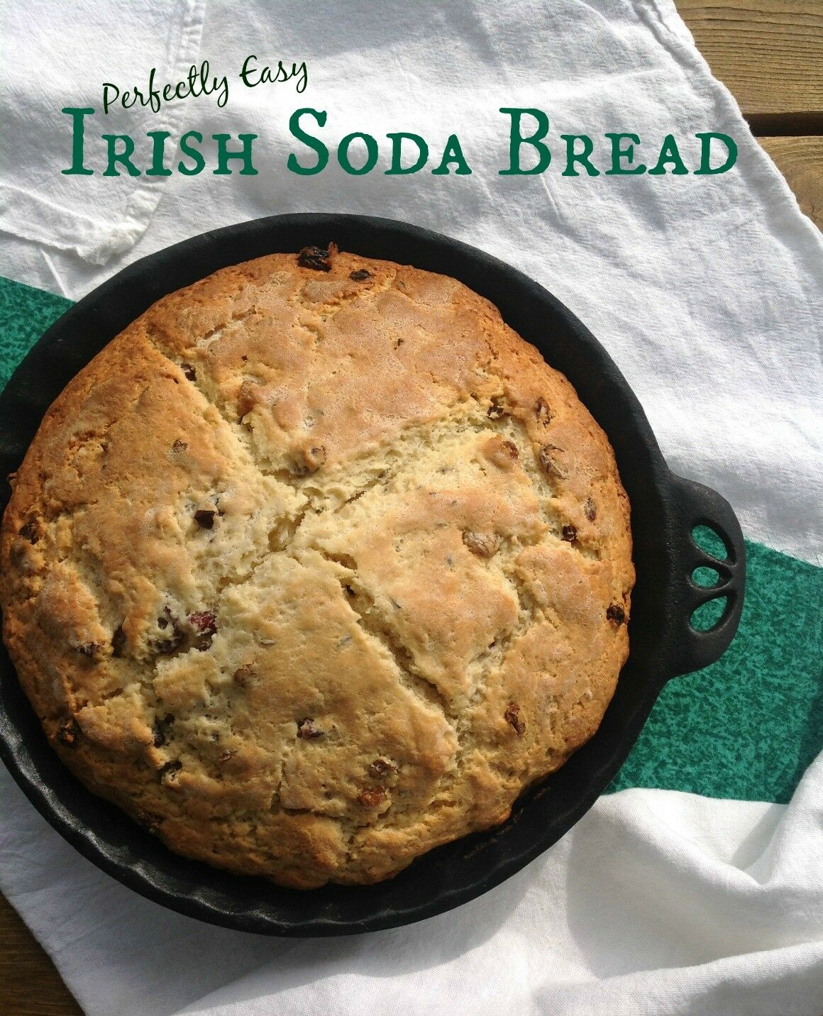 ... Irish persons, for your pleasure, this Soda Bread is amazingly easy to