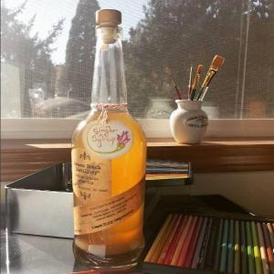 Homemade Ginger Syrup |The Good Hearted Woman