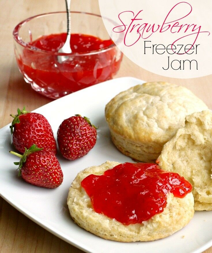 Strawberry freezer jam is one of the easiest ways to preserve the fresh taste of summer.