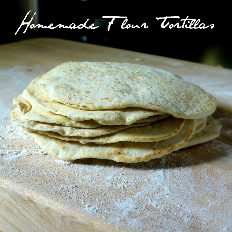 Homemade Tortillas - title