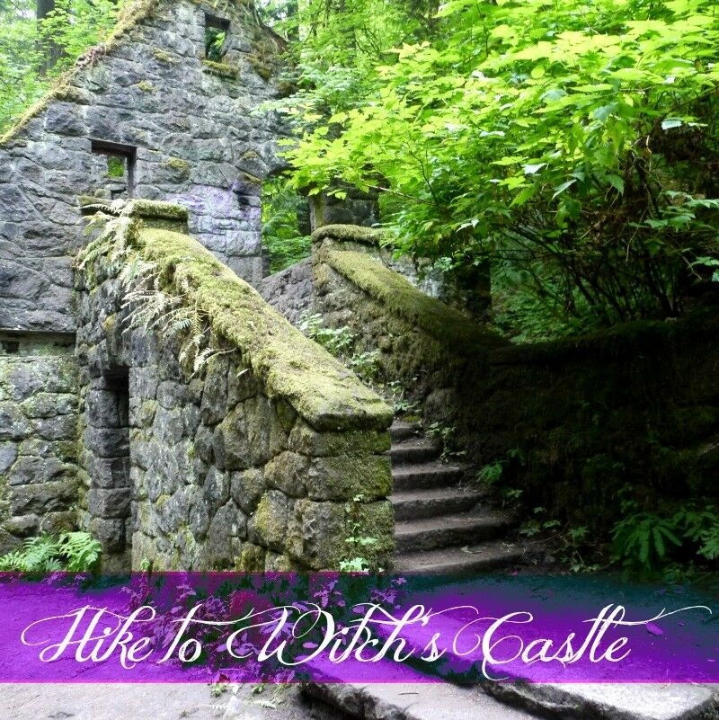 Hike To Witchs Castle Forest Park Portland on pacific northwest landscaping
