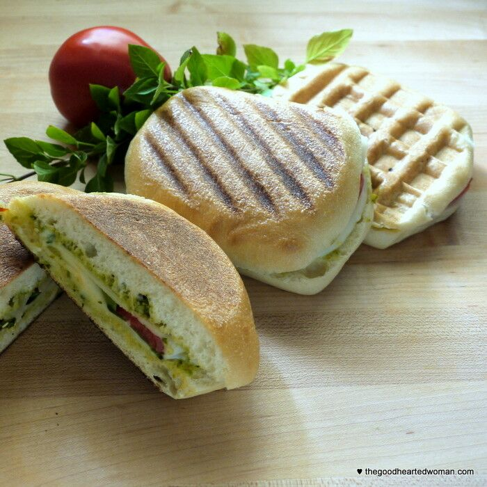 Caprese Panini |The Good Hearted Woman
