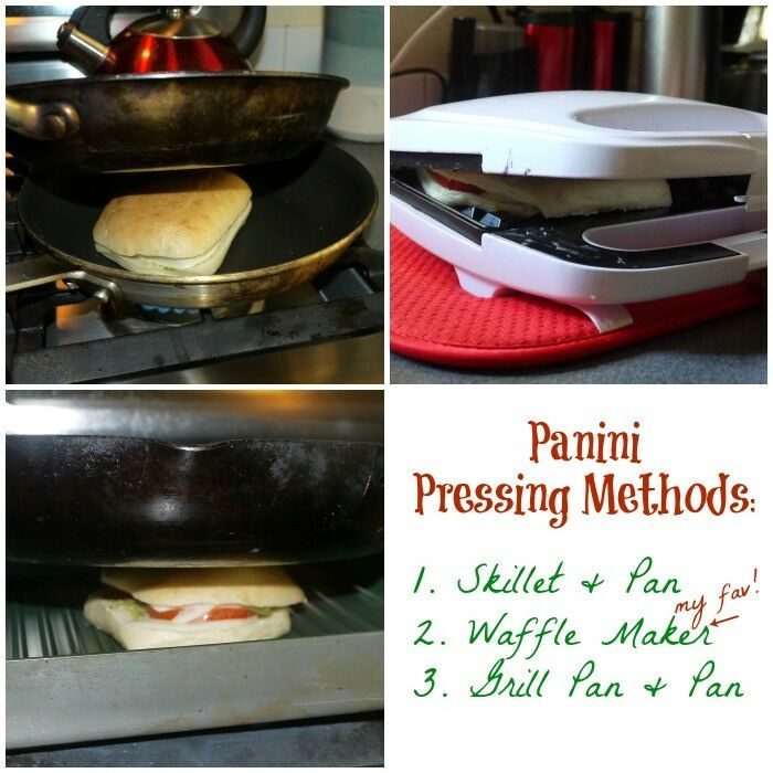 Make Panini Without a Press | The Good Hearted Woman