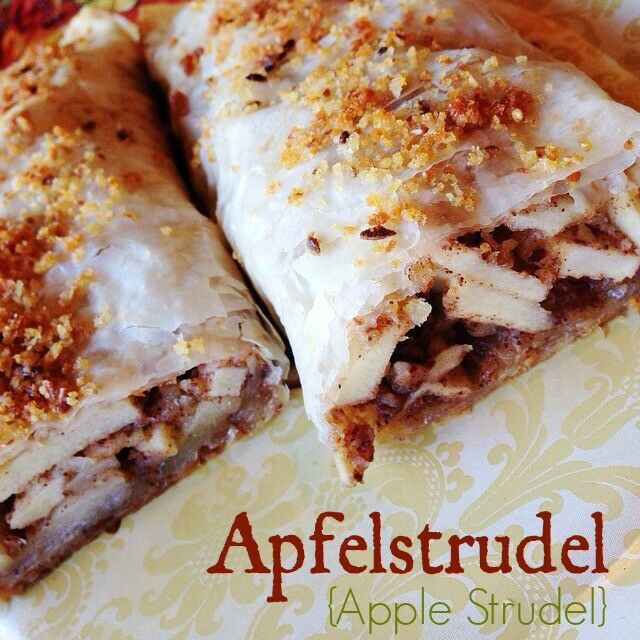Fresh, crisp, and sweetly spiced, this Easy Apfelstrudel {Apple Strudel} is fancy enough for the most elaborate Oktoberfest menu, but simple enough for any night of the year. | The Good Hearted Woman