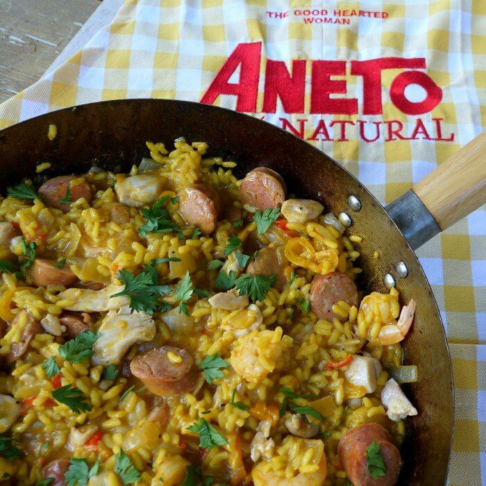Paella with Aneto | The Good Hearted Woman