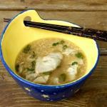Wonton Egg Drop Soup | The Good Hearted Woman