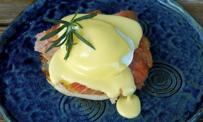 Smoked Salmon Eggs Benedict | The Good Hearted Woman