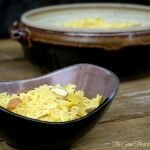 Sweet Yellow Saffron Rice | The Good Hearted Woman