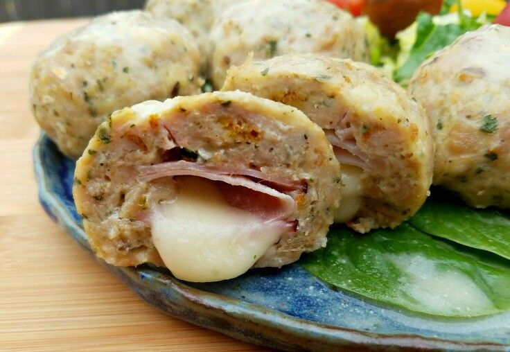 The Skinnytaste Cookbook Chicken Cordon Bleu Meatballs