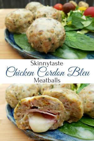 Skinnytaste Cookbook & Chicken Cordon Bleu Meatballs {Review & Recipe} | The Good Hearted Woman