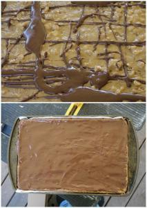 Chocolate Peanut Butterfinger Bars | The Good Hearted Woman