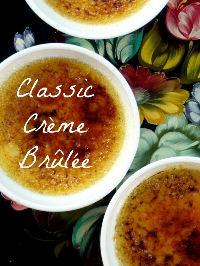 Classic Vanilla Bean Creme Brulee | The Good Hearted Woman