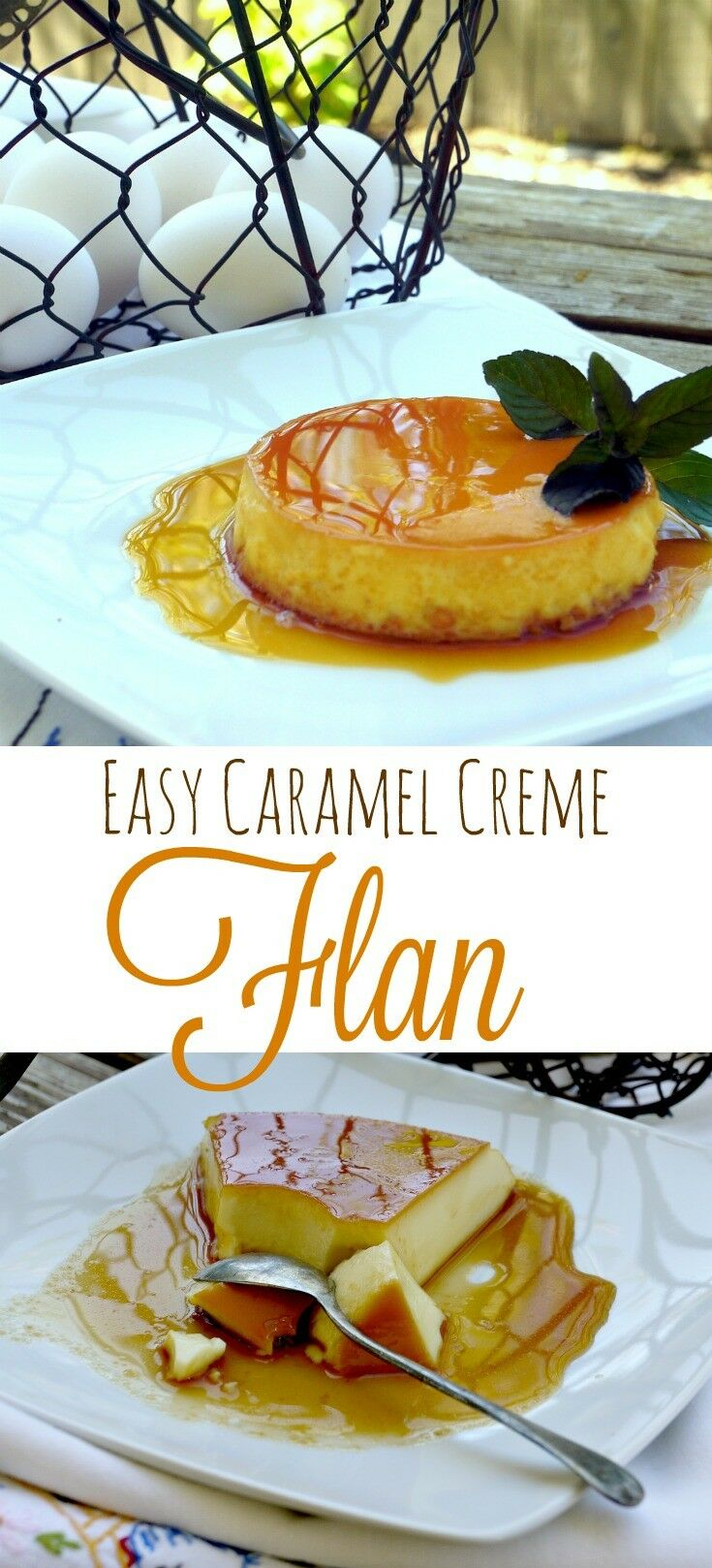 Easy Caramel Creme Flan - including my 4 Tricks for Success | The Good Hearted Woman
