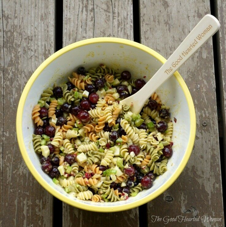 Citrus Pasta Salad {Recipe} | The Good Hearted Woman