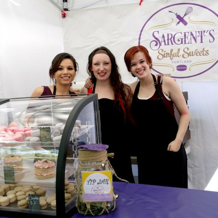Sargent's Sinful Sweets at Portland Saturday Market  - 2015 Season | The Good Hearted Woman
