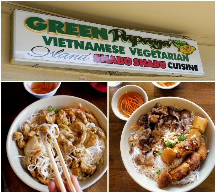Oahu Cheap Eats - The Green Papaya, Honolulu | The Good Hearted Woman