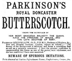Parkinson's Butterscotch | The Good Hearted Woman