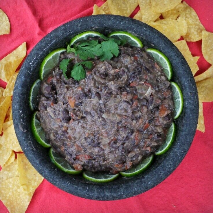 Cuban Black Bean DIp | The Good Hearted Woman
