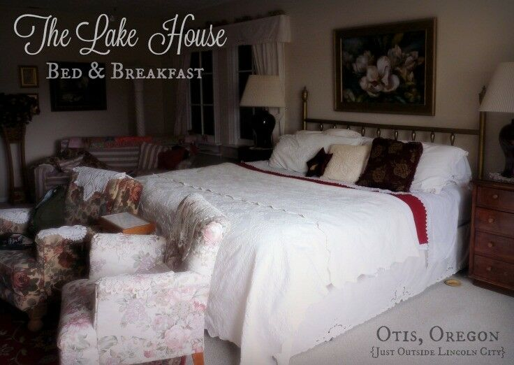 The Lake House Bed & Breakfast, Lincoln City, Oregon | The Good Hearted Woman