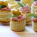 Smoked Salmon Pastry Cups with Marscarpone & Fresh Dill | The Good Hearted Woman