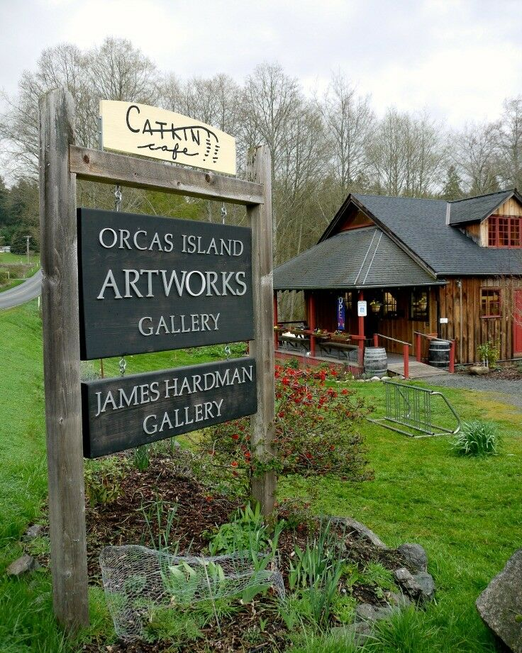 Orcas Island Artworks & Catkin Cafe | The Good Hearted Woman