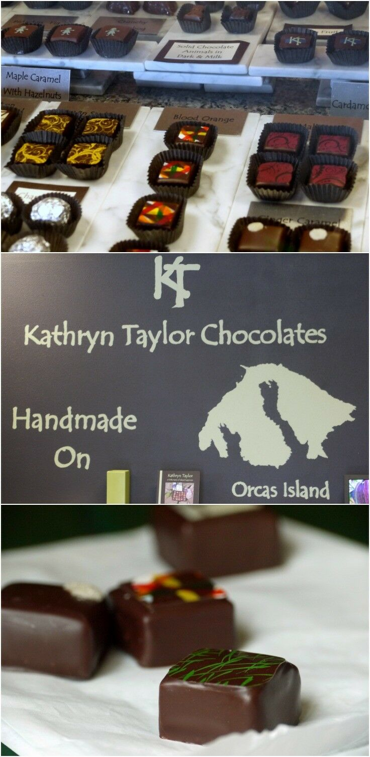 Katherine Taylor Chocolates, Eastsound, Orcas Island | The Good Hearted Woman