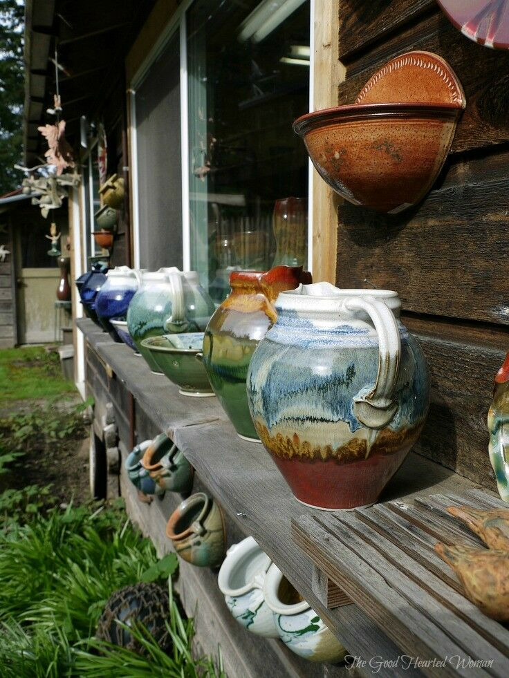 From one generation to the next, through earth and fire, Orcas Island Pottery continues to create and inspire. | The Good Hearted Woman