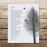 """My Wish"" (Lyrics by Rascal Flatts) Personalized Print - $15"