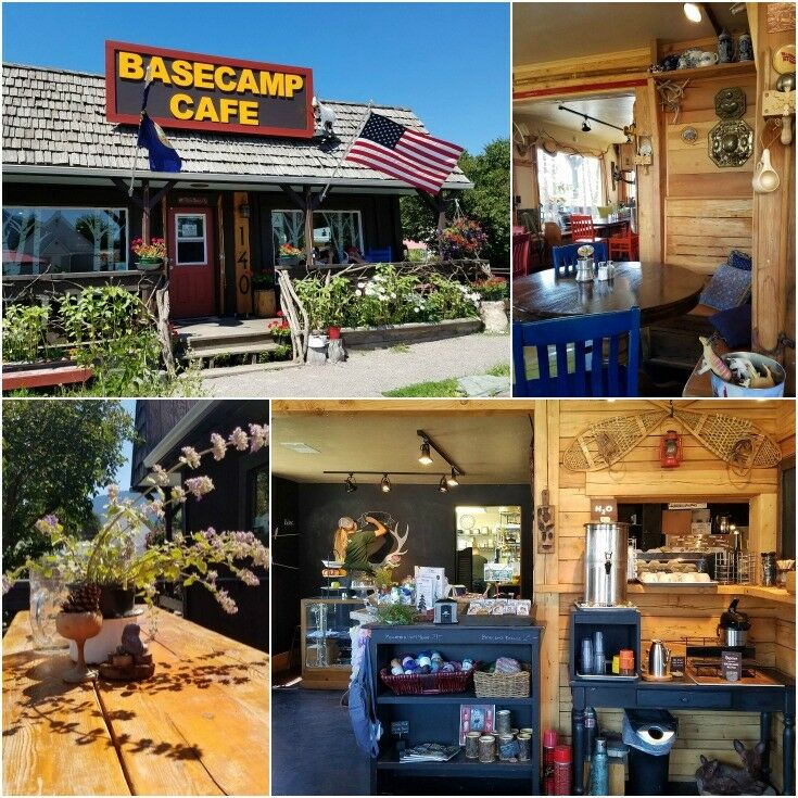 Base Camp Cafe, Columbia Falls, Montana {Montana Small Town Cheap Eats} | The Good Hearted Woman