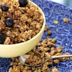 Uncle David's Hearty Vegan Breakfast Granola is a delicious, healthy way to start your day!