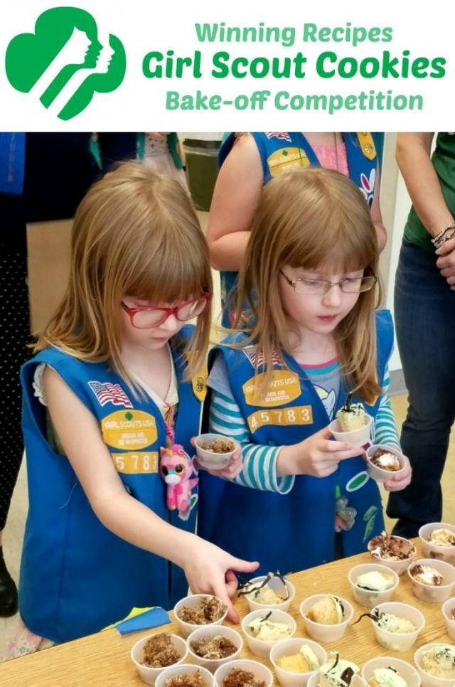 Winning Recipes from Girl Scout Cookie Recipe Bake-off | The Good Hearted Woman