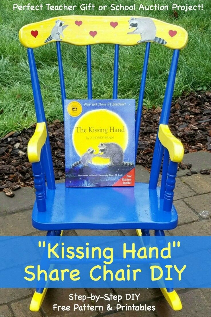 Share Chair DIY {Teacher Gift | School Auction Project}