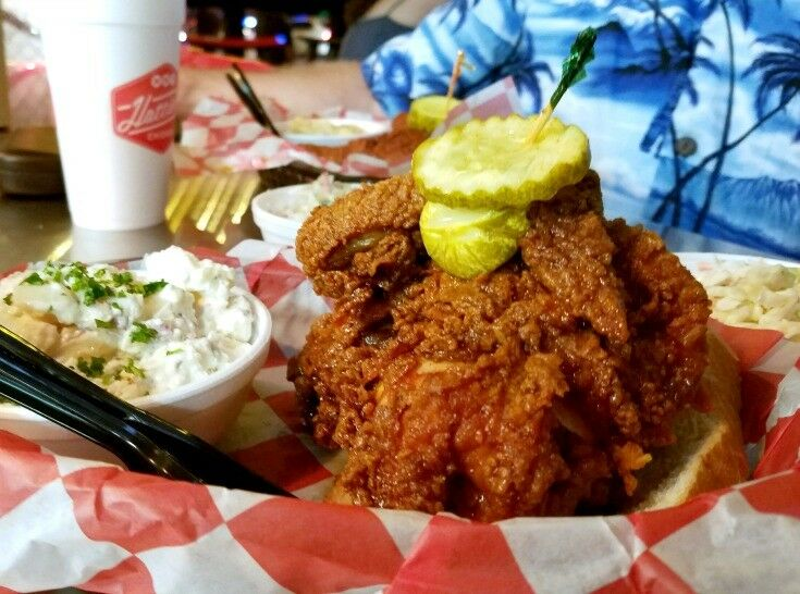 Hattie B's Hot Chicken, Nashville | The Good Hearted Woman