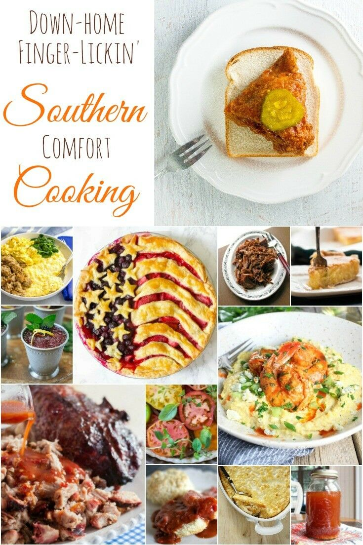 Satisfy your belly and your soul with these delicious Southern classics. Smoky, sweet and smokin' hot Comfort-with-a-capital-C.That's what I'm talkin' 'bout.