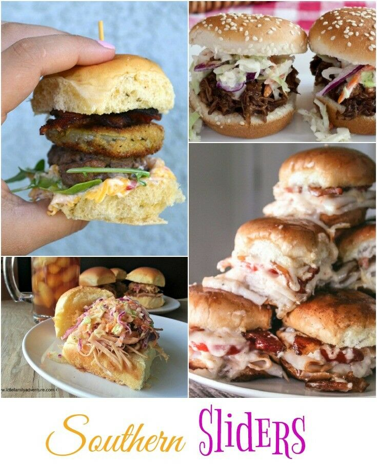 Southern Sliders - Recipes | THe Good Hearted Woman
