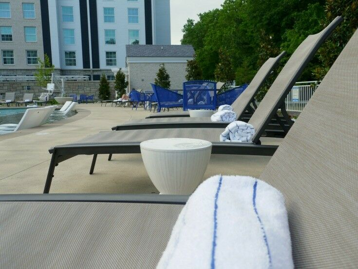 Lounging by the Pool - The Guest House at Graceland | The Good Hearted Woman