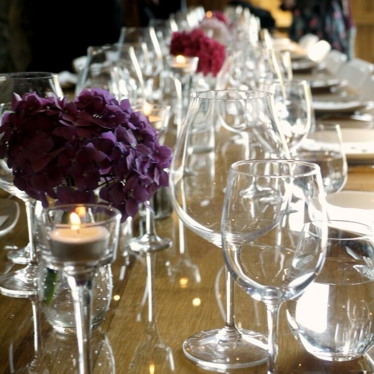 Purple Hydrangeas - Estate Grown, Naturally - A Tour of Maysara Winery & Momtazi Vineyard, McMinnville, Oregon | The Good Hearted Woman