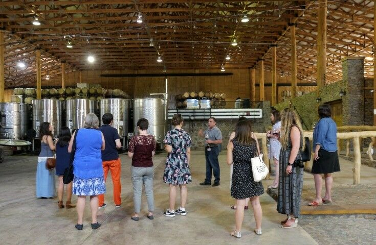 Moe w Bloggers - Estate Grown, Naturally - A Tour of Maysara Winery & Momtazi Vineyard, McMinnville, Oregon | The Good Hearted Woman