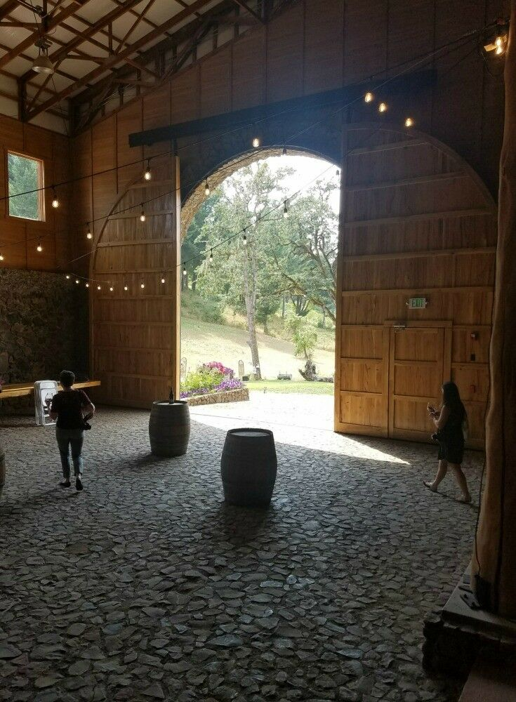 Door - Estate Grown, Naturally - A Tour of Maysara Winery & Momtazi Vineyard, McMinnville, Oregon | The Good Hearted Woman