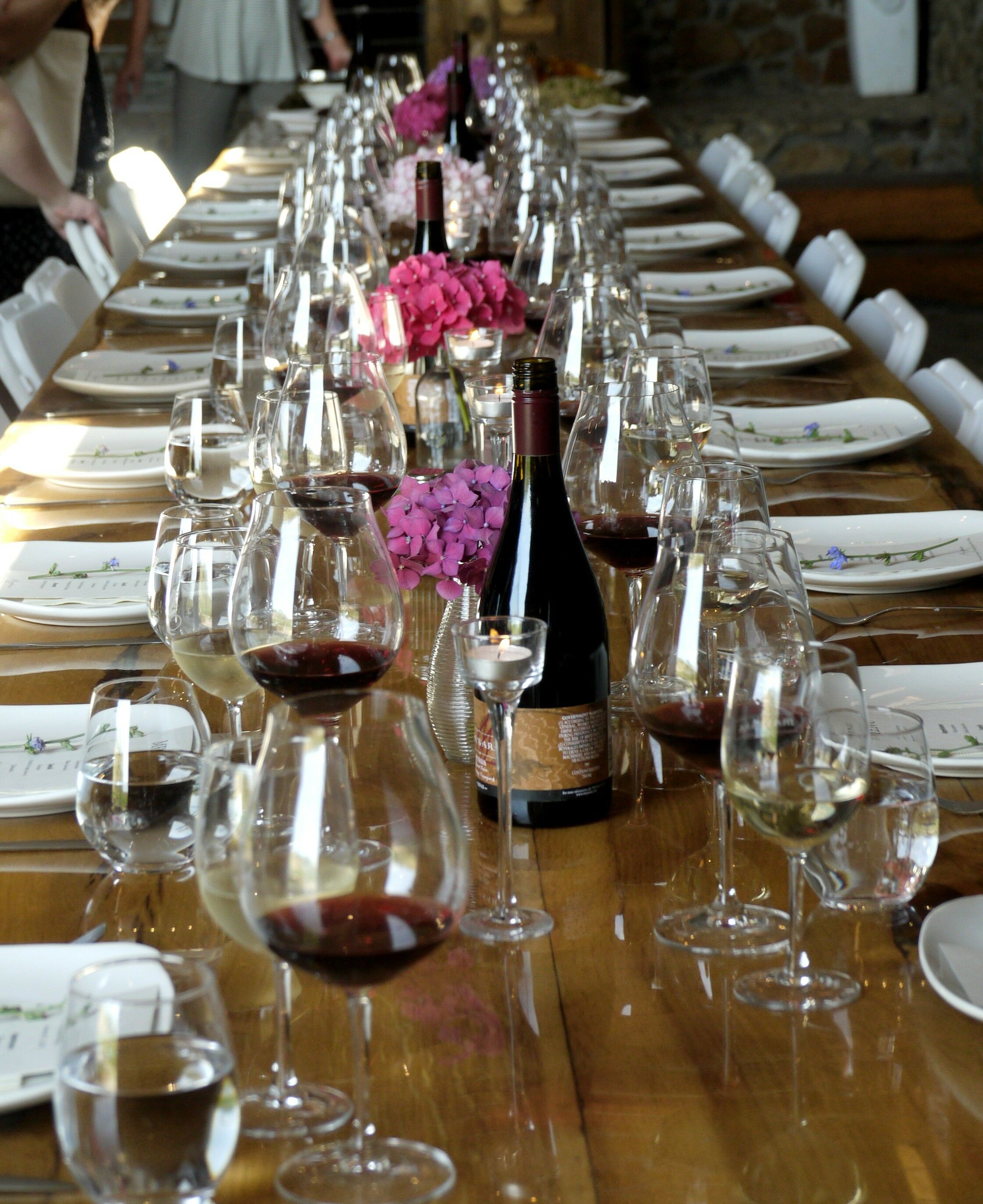 Table 1 - Estate Grown, Naturally - A Tour of Maysara Winery & Momtazi Vineyard, McMinnville, Oregon | The Good Hearted Woman