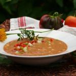 Garden Fresh Gazpacho Recipe | The Good Hearted Woman