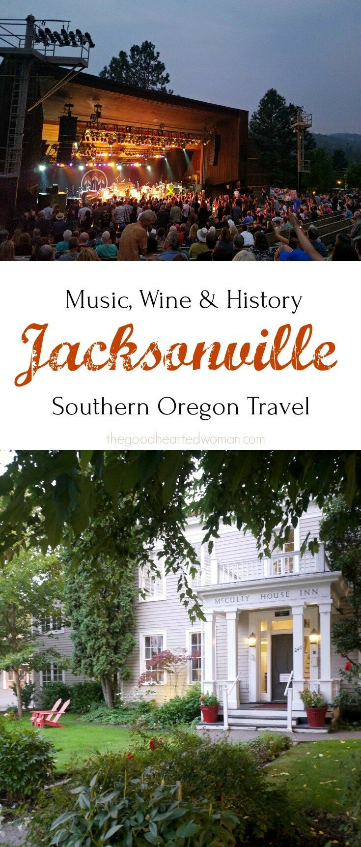 Blending small town ambience with sophisticated taste, this 1850's gold-rush town is booming with music, wine, and history.  | Travel Oregon: A Day in Jacksonville | The Good Hearted Woman